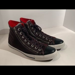 Converse All Star High Tops Double Zip BlackM9/W11